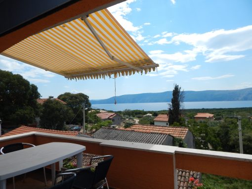 Jurasic tengerre néző apartman – 2 fő – Linardici