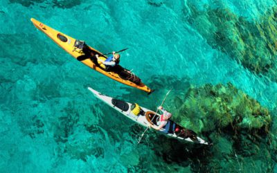 Sea kayaking, canoeing